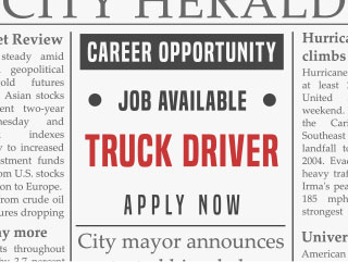 Truck Driver Job Opportunity